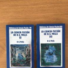 Libros de segunda mano: LA CIENCIA FICCION DE H G WELLS. Lote 222168595