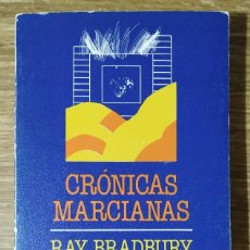 Libros de segunda mano: LIBRO - CRÓNICAS MARCIANAS (1983) RAY BRADBURY; EDICIONES MINOTAURO. Lote 222221693