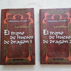 Libros de segunda mano: LOTE DE 2 LIBROS, EL TRONO DE LOS HUESOS ( 1 Y 2 ). Lote 222504407