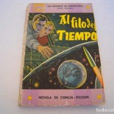 Livres d'occasion: AL FILO DEL TIEMPO. Lote 222798632