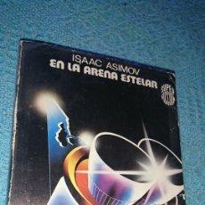 Libros de segunda mano: LIBRO, SÚPER FICCIÓN, EN LA ARENA ESTELAR, POR ISAAC ASIMOV, EDICIÓN MARTÍNEZ ROCA, 1985. Lote 224181265