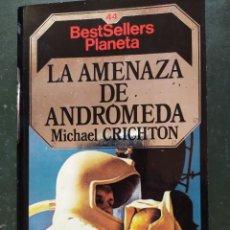 Libros de segunda mano: LOTE DE 6 TÍTULOS DE CIENCIA FICCIÓN Y FANTASÍA - MICHAEL CRITCHTON. Lote 224663328