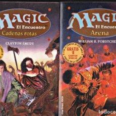 Libri di seconda mano: MAGIC EL ENCUENTRO DOS LIBROS -MARTINEZ ROCA. Lote 224782818