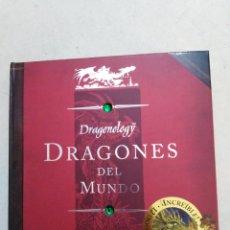 Libros de segunda mano: DRAGONES DEL MUNDO ( 12 DRAGONES EN EL INTERIOR ). Lote 225899290