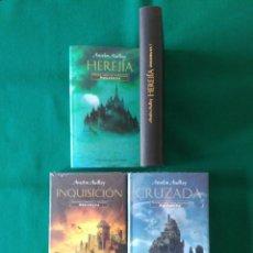 Libros de segunda mano: TRILOGÍA AQUASILVA - LIBROS II Y III CON EL PRECINTO ORIGINAL - ANSELM AUDLEY - CÍRCULO DE LECTORES. Lote 226385075