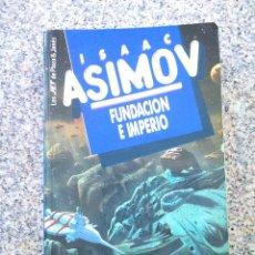 Libros de segunda mano: FUNDACION E IMPERIO -- ISAAC ASIMOV -- PLAZA & JANES 1989 --. Lote 227039570