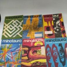 Libros de segunda mano: MINOTAURO FANTASÍA Y CIENCIA FICCIÓN NÚMEROS 2 AL 7. Lote 228273765