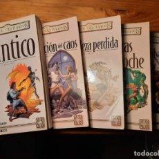 Libros de segunda mano: PENTALOGÍA DEL CLÉRIGO - R.A. SALVATORE (5 TOMOS TAPA BLANDA - COMPLETA) TIMUN MAS REINOS OLVIDADOS. Lote 228953245