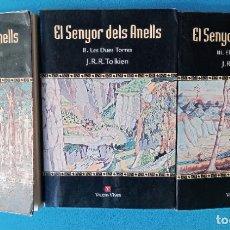Libros de segunda mano: EL SENYOR DELS ANELLS - J.R.R TOLKIEN. Lote 230580155