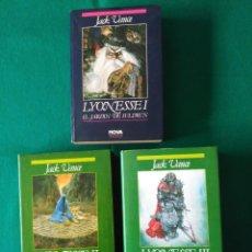 Libros de segunda mano: TRILOGÍA LYONESSE I - II - III (COMPLETA) - NOVA - 1ª EDICIÓN 89, 90 Y 92. Lote 230821430