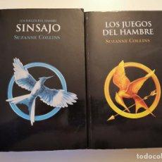 Libros de segunda mano: LOS JUEGOS DEL HAMBRE Y SINSAJO ED. MOLINO 2012. Lote 231730020