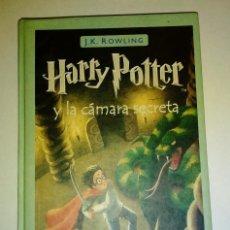 Libros de segunda mano: HARRY POTTER Y LA CÁMARA SECRETA. ED SALAMANDRA 25 EDICIÓN 2001. Lote 232020155