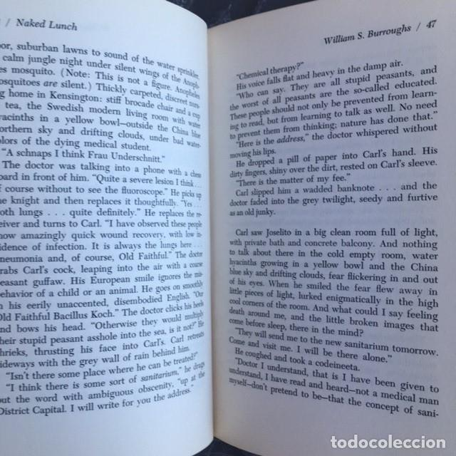 Almuerzo Desnudo WILLIAM S. BURROUGHS Primera Edición 1a