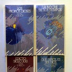 Livros em segunda mão: 3 CLASICOS CIENCIA FICCIÓN. V, BARJAVEL, EHRLICH, A&B STRUGATSKI/LA NOCHE DE LOS TIEMPOS, EDICTO SIG. Lote 232603925