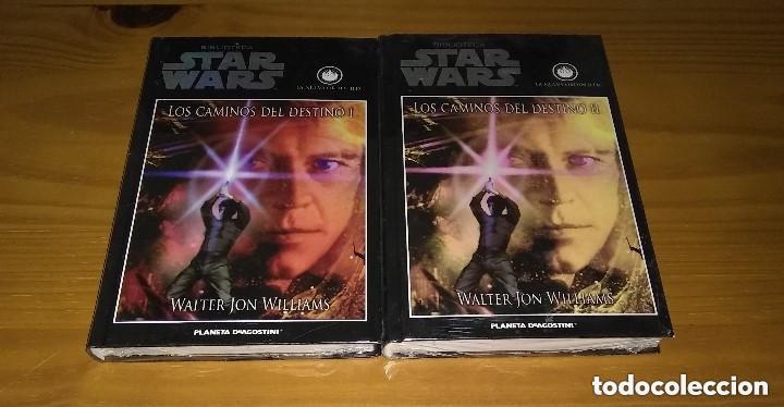 STAR WARS LOS CAMINOS DEL DESTINO I + II WALTER JON WILLIAMS PLANETA DE AGOSTINI PRECINTADO (Libros de Segunda Mano (posteriores a 1936) - Literatura - Narrativa - Ciencia Ficción y Fantasía)