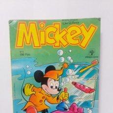 Libros de segunda mano: REVISTA COMIC MICKEY NÚMEROS 1 1989. COLOR 10 PAGINAS LIBRO TEBEO. Lote 233057760