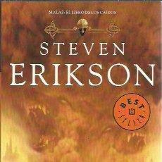 Libros de segunda mano: STEVEN ERIKSON-LAS PUERTAS DE LA CASA DE LA MUERTE.LA FACTORIA DE IDEAS.DEBOLSILLO.2012.. Lote 234024535