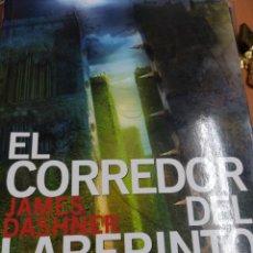 Livros em segunda mão: EL CORREDOR DEL LABERINTO. JAMES DASHNER. Lote 234510785