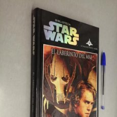 Livres d'occasion: STAR WARS LA SAGA DE DARTH VADER: EL LABERINTO DEL MAL / JAMES LUCENO / PLANETA 2009. Lote 234561945