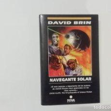 Libros de segunda mano: NAVEGANTE SOLAR - DAVID BRIN - NOVA -(L). Lote 235089840