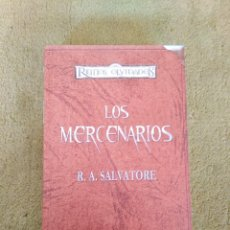 Libri di seconda mano: LOS MERCENARIOS (ED. COLECCIONISTA) - R. A. SALVATORE (TIMUN MAS) - TAPA DURA. Lote 235384180