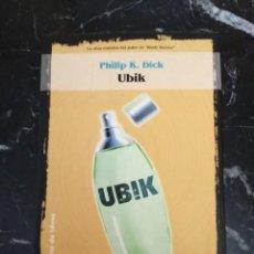 Libros de segunda mano: UBIK - PHILIP K. DICK (LA FACTORIA DE IDEAS SOLARIS FICCION). Lote 235601450