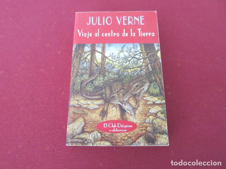 VIAJE AL CENTRO DE LA TIERRA - JULIO VERNE - VALDEMAR - EL CLUB DIOGENES (Libros de Segunda Mano (posteriores a 1936) - Literatura - Narrativa - Ciencia Ficción y Fantasía)