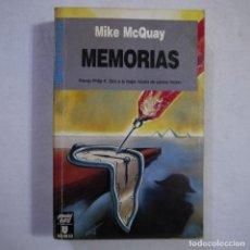 Libros de segunda mano: CIENCIA FICCIÓN 101. MEMORIAS - MIKE MCQUAY - ULTRAMAR EDITORES - 1990 - 1.ª EDICION. Lote 235814105