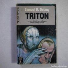 Libros de segunda mano: CIENCIA FICCIÓN 108. TRITÓN - SAMUEL R. DELANY - ULTRAMAR EDITORES - 1991 - 1.ª EDICION. Lote 235815900