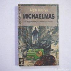 Libros de segunda mano: CIENCIA FICCIÓN 102. MICHAELMAS - ALGIS BUDRYS - ULTRAMAR EDITORES - 1990 - 1.ª EDICION. Lote 235816665