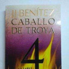 Livres d'occasion: CABALLO DE TROYA 4/NAZARET/JJ BENITEZ.. Lote 235996910