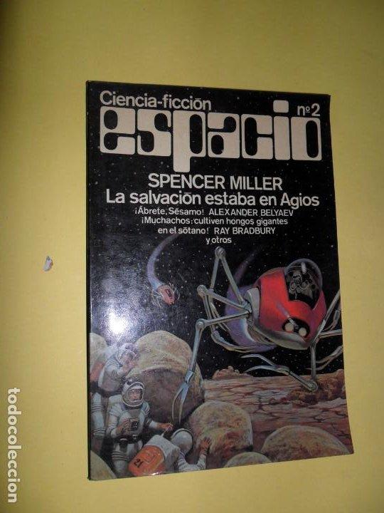 LA SALVACIÓN ESTABA EN AGIOS, SPENCER MILLER, CIENCIA-FICCIÓN ESPACIO, NÚMERO 2, ED. MOSAICO (Libros de Segunda Mano (posteriores a 1936) - Literatura - Narrativa - Ciencia Ficción y Fantasía)