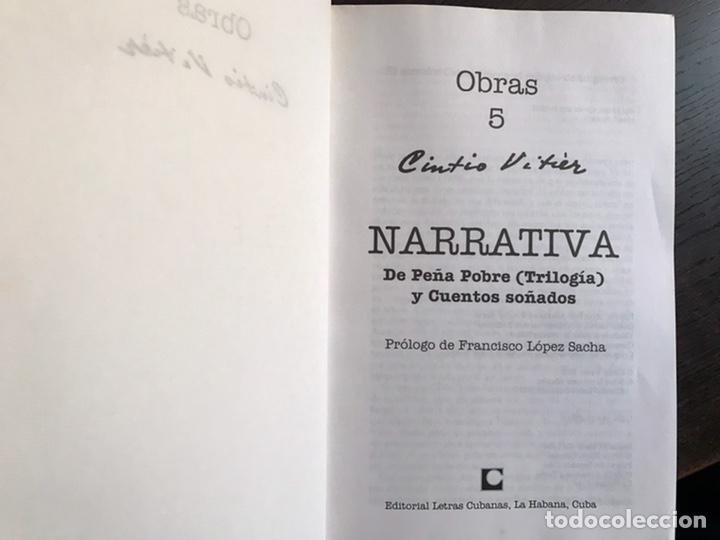 Libros de segunda mano: Cintio Vitier. Obras 5. - Foto 3 - 236474385
