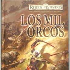 Libros de segunda mano: LAS ESPADAS DEL CAZADOR VOL 1 LOS MIL ORCOS - R. A. SALVATORE - MINOTAURO, 1. Lote 236483355