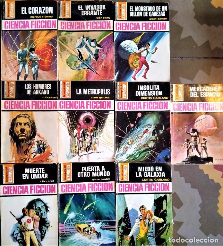 LA CONQUISTA DEL ESPACIO - Nº 100 A 109 - BRUGUERA CIENCIA FICCIÓN (Libros de Segunda Mano (posteriores a 1936) - Literatura - Narrativa - Ciencia Ficción y Fantasía)