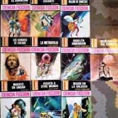 Libros de segunda mano: LA CONQUISTA DEL ESPACIO - Nº 100 A 109 - BRUGUERA CIENCIA FICCIÓN. Lote 236505990