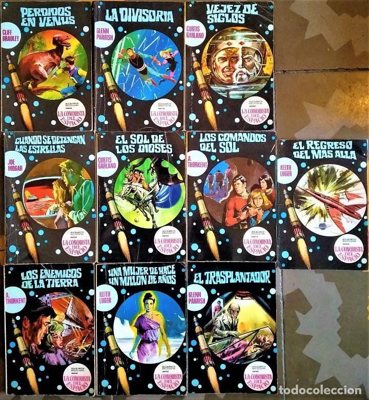 LA CONQUISTA DEL ESPACIO - Nº 70 A 79 - BRUGUERA CIENCIA FICCIÓN (Libros de Segunda Mano (posteriores a 1936) - Literatura - Narrativa - Ciencia Ficción y Fantasía)