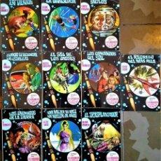 Libros de segunda mano: LA CONQUISTA DEL ESPACIO - Nº 70 A 79 - BRUGUERA CIENCIA FICCIÓN. Lote 236506610