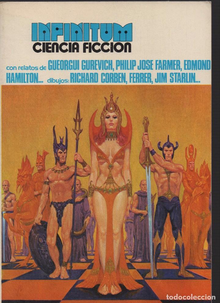INFINITUM CIENCIA FICCIÓN (Libros de Segunda Mano (posteriores a 1936) - Literatura - Narrativa - Ciencia Ficción y Fantasía)