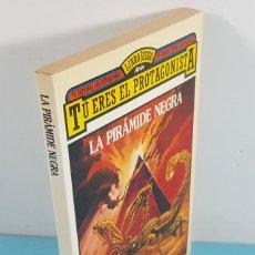 Libros de segunda mano: TU ERES EL PROTAGONISTA, LA PIRAMIDE NEGRA, DAVID TANT, LAS LEYENDAS DE SKYFALL 2 1987 JUEGO ARIN. Lote 236527915
