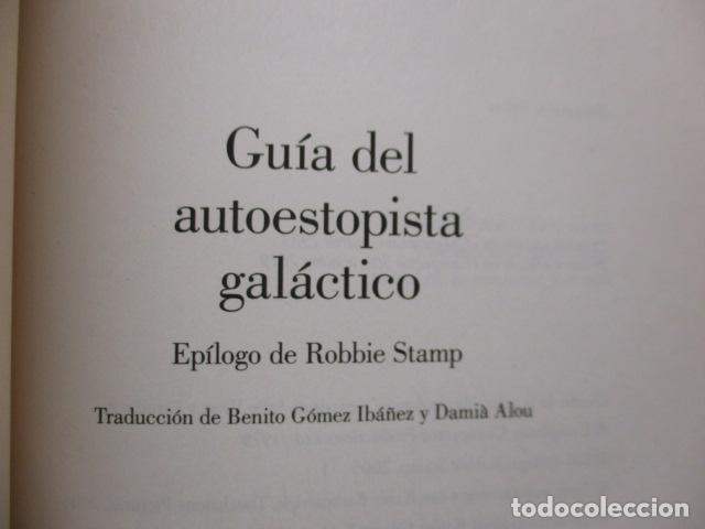 Libros de segunda mano: Guía del autoestopista galáctico. - Adams, Douglas. COMO NUEVO. - Foto 4 - 236807290
