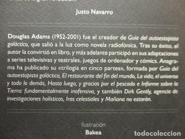 Libros de segunda mano: Guía del autoestopista galáctico. - Adams, Douglas. COMO NUEVO. - Foto 9 - 236807290
