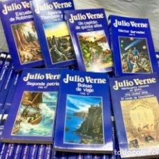 Libros de segunda mano: COLECCIÓN 100 LIBROS DE JULIO VERNE. Lote 236968765