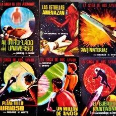 Libros de segunda mano: LA SAGA DE LOS AZNAR - LOTE 43 A 48 - GEORGE H. WHITE - ED VALENCIANA. Lote 294122033