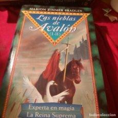 Libros de segunda mano: LAS NIEBLAS DE AVALÓN. LAS 4 NOVELAS EN DOS TOMOS. MARION ZIMMER BRADLEY. CIRCULO DE LECTORES.. Lote 237590355