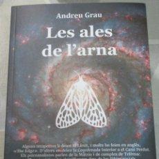 Libros de segunda mano: ANDREU GRAU, LES ALES DE L'ARNA, HERMENAUTE, CIENCIA FICCIO EN CATALA EXEMPLAR NOU DISTOPIA. Lote 238297535