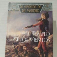 Libros de segunda mano: EL TEMPLO DE LOS VIENTOS: LA ESPADA DE LA VERDAD (VOL. 8) TERRY GOODKIND. TAPA DURA. TIMUN MAS. Lote 239734680