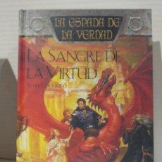 Libros de segunda mano: LA SANGRE DE LA VIRTUD: LA ESPADA DE LA VERDAD (VOL. 5) TERRY GOODKIND. TIMUN MAS. Lote 239734955