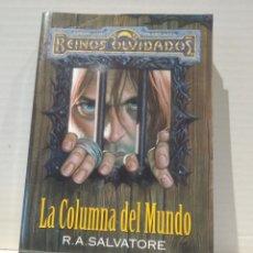Libros de segunda mano: LA COLUMNA DEL MUNDO. R. A. SALVATORE, -TIMUN ELFO OSCURO. Lote 239735350