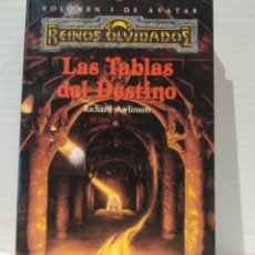 Libros de segunda mano: LAS TABLAS DEL DESTINO. RICHARD AWLISON. TIMUN MAS. Lote 239735375